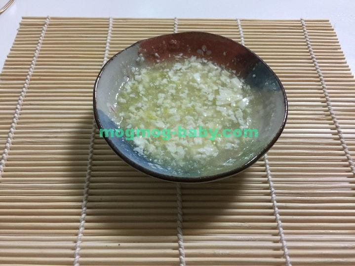 離乳食初期の白菜レシピ