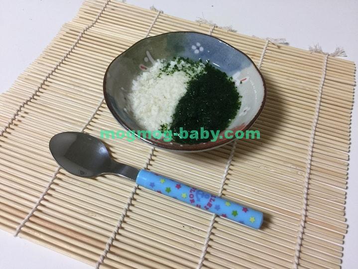 離乳食初期の小松菜と豆腐のレシピ