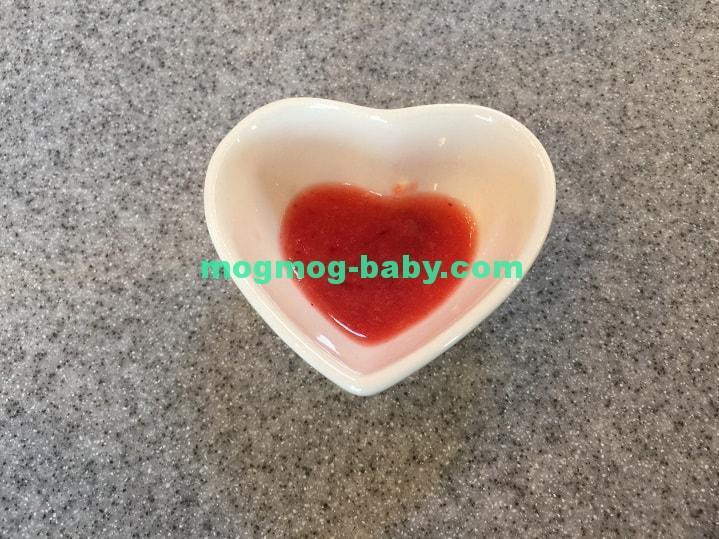 離乳食初期用のいちご果汁