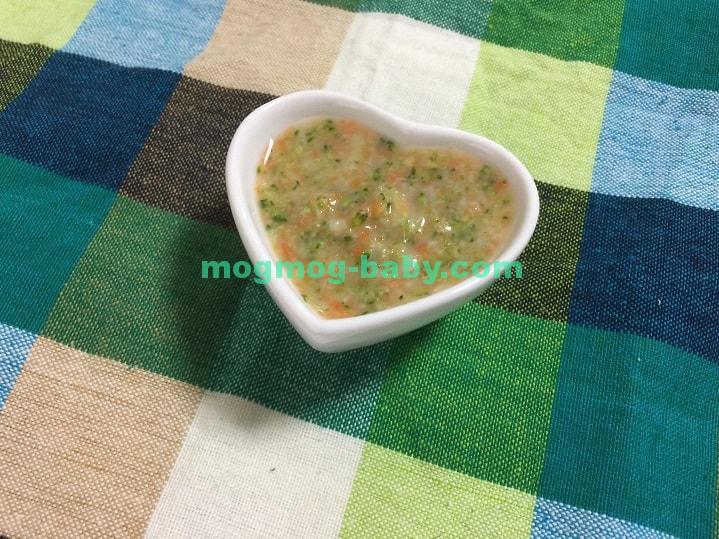 離乳食初期のブロッコリーのレシピ