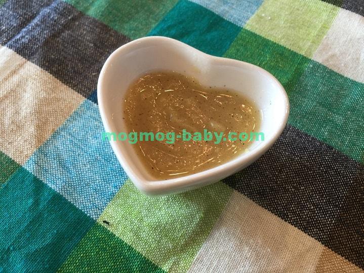 離乳食初期のさつまいもきな粉